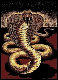 Striking Cobra Area Rug