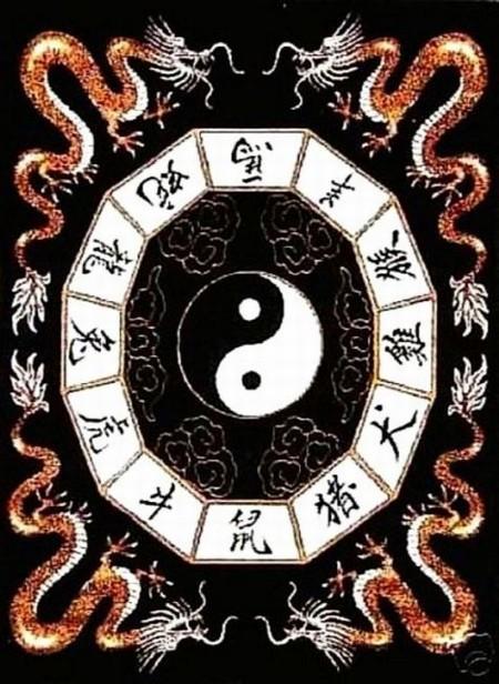 Yin Yang Dragon Chinese Dragon Rug Dragon Rug