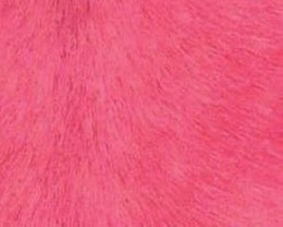 Pink Cow Hide Leather Rug