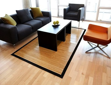 Contemporary Bamboo Rugs Mats