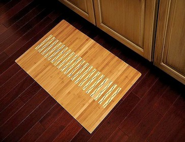 Bamboo Kitchen and Bath Mat