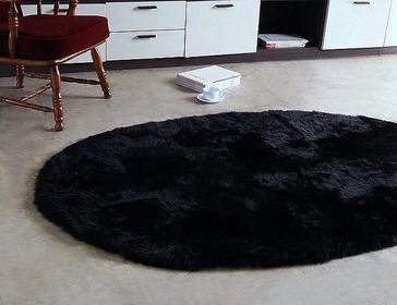 Oval Sheep Skin Rugs