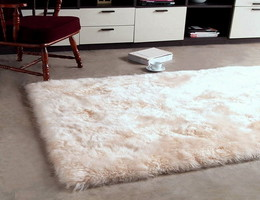 Rectangular Sheep Skin Rugs