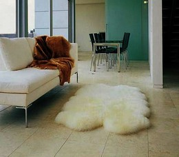 Bowron Quad Pelt Sheep Skin Rug