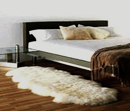Bowron Double Pelt Sheep Skin Rug