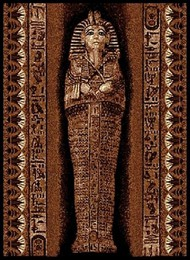 Pharoah Tomb Area Rug