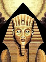 Egyptian King Tut Area Rug