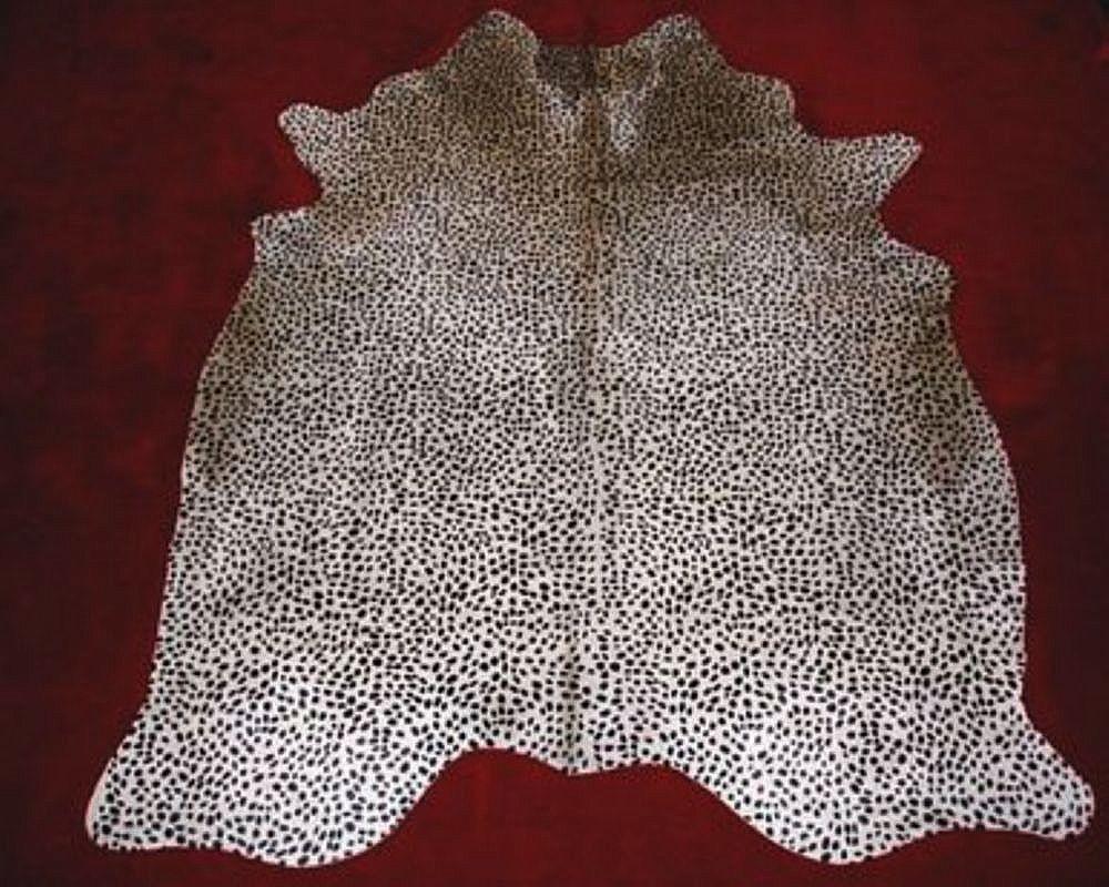 Cheetah Cowhide Rug Standard Cheetahprint Cowhide Rug On