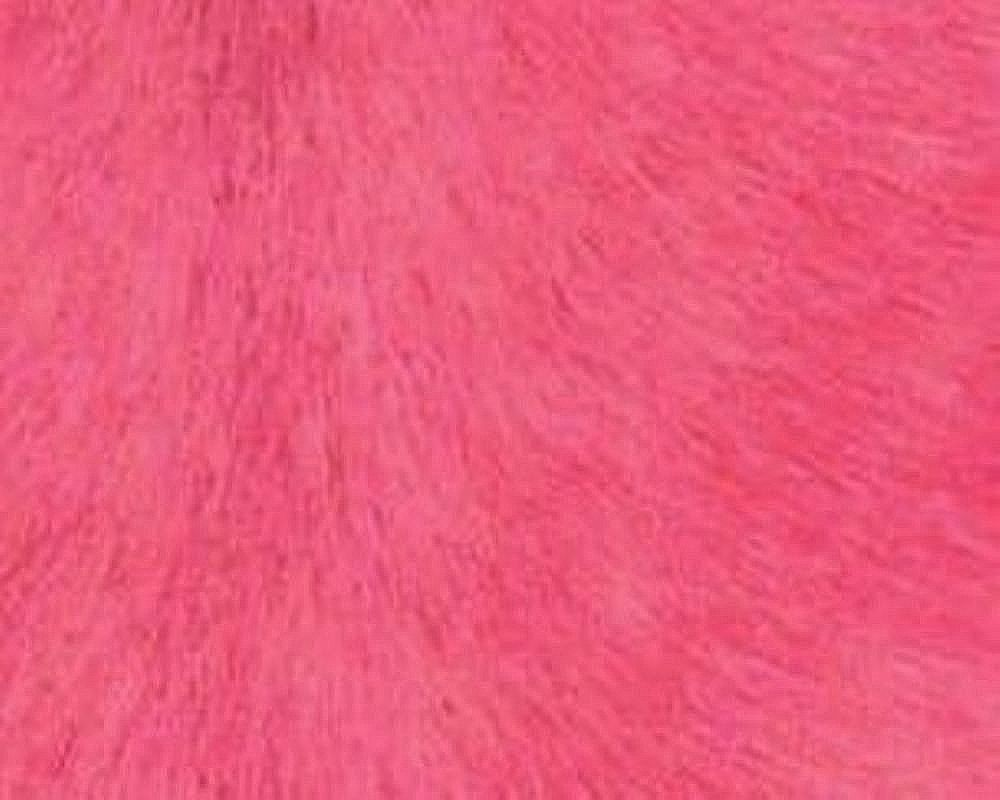 Natural Dyed Solid Hot Pink Cowhide Rug Hot Pink Dyed