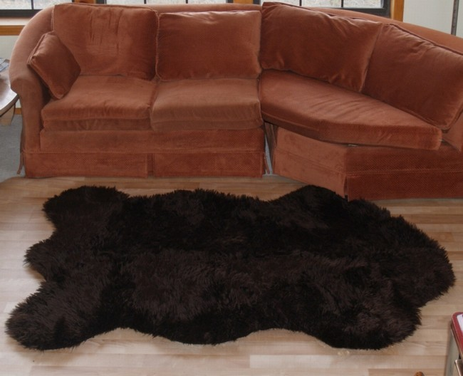 Fake Cow Hide Rug
