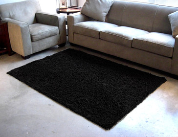 Cotton Shag Rug Graphite