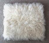 Wool Shag Flokati Pillows ...